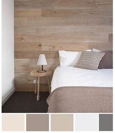 Neutral Color Palette - for the master bedroom - Home Decorating DIY Home Bedroom, Master Bedroom, Bedroom Decor, Bedrooms, Room Colors, House Colors, Bedroom Colours, Bedroom Neutral, Bedroom Black