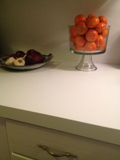 Chalk Paint Kitchen Counters- they are the bomb.