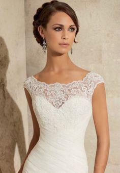 New White/Ivory Mermaid Bridal Gown Wedding Dress Custom Size:2 4 6 8 10 12