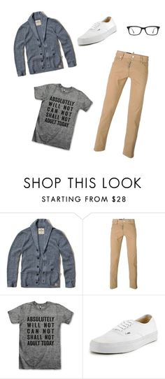 """""""Monday Mornings"""" by chasethewaves31 ❤ liked on Polyvore featuring Hollister Co., Dsquared2, Vans, Ray-Ban, women's clothing, women, female, woman, misses and juniors"""