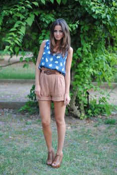 #summer #outfit #short #casual