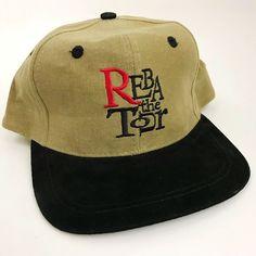 ff54149d4cb Reba McIntyre The Tour Vtg 1997 Snapback Brown Adjustable Country Music New  | eBay