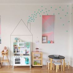Our little Ikea play kitchen that I pimped has been featured over at…