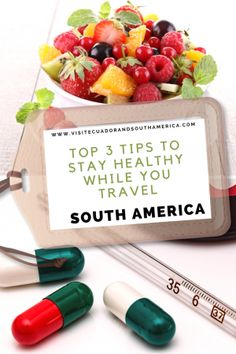 Top 3 tips to stay healthy while you travel in South America Travel Abroad, Travel Tips, Spanish Speaking Countries, First Health, Just Dream, Health Challenge, South America Travel, How To Speak Spanish, Raw Food Recipes