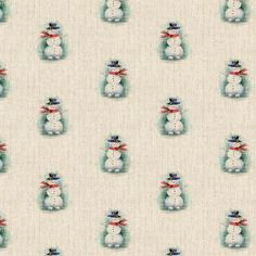 E1Wh77lA Christmas Fabric, Christmas Snowman, Cotton Linen, Printed Cotton, Natural Linen, Cushion Covers, Fabric Design, Blinds, Craft Projects
