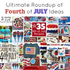 The ultimate fourth of july roundup of ideas for crafts, decor and food