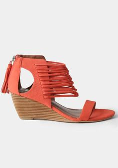 6a2990b8737c Bryn Wedge Sandals By Matiko -  145.00   ThreadSence