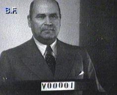 Presidente Medina Angarita cédula No. 1
