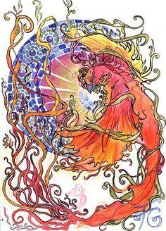 art nouveau phoenix - Google Search