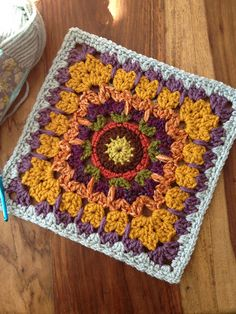 "Ravelry: chitweed's See How They Run 12"" Afghan Mystery Block"