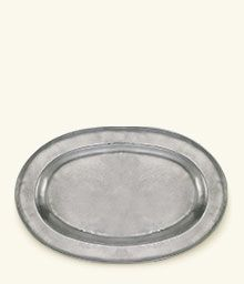Wide Rimmed Oval Platter 430