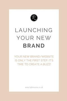 Launching your new b