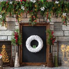 Simple Christmas, Christmas Diy, Christmas Wreaths, Christmas Decorations, Christmas Ornaments, Winter Wreaths, Spring Wreaths, Homemade Christmas, Christmas Crafts To Make And Sell