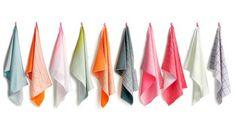HAY - Trockentücher S&B Tea Towels - 52 x 75 cm -  Hanging Grid