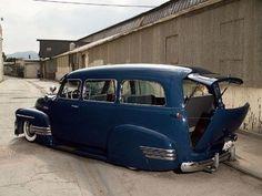 custom '40's Chevy Suburban