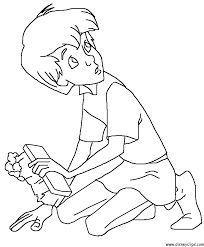 Billedresultat for the sword in the stone coloring pages