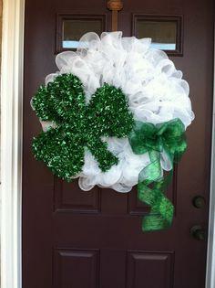 Deb Mullis Martin's St. Patrick Day's Wreath