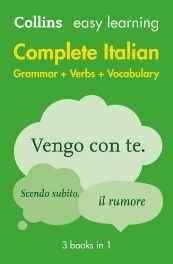 Easy Learning Complete italian Grammar Verbs and Vocabulary (Collins Easy Learning Italian) (Italian) Paperback ? 4 Mar 2010