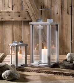 candles Lantern Candle Holders, Candle Lanterns, Candle Sconces, Candles, Summer Cabins, Masculine Interior, Light My Fire, Cottage Interiors, Interior Decorating