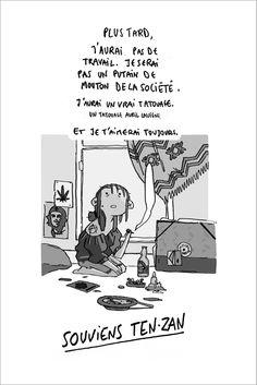 """PostcardsSouviens Ten-Zan(it means """"Remember"""" in english) byCaroline Cherrier"""