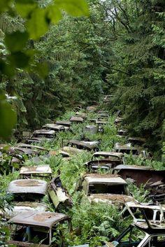 Ces 20 photos de lieux abandonnés vont vous donner des frissons. Surtout les Parcs d'attractions !