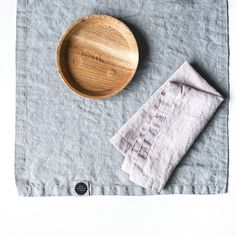 Washed large linen napkins / Set of 4 6 8 or 12 by notPERFECTLINEN
