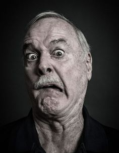 John Cleese (1939) - English actor, comedian, writer and tall person famous from Monthy Python. Photo by Andy Gotts