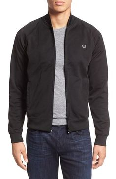 Fred Perry Bomber Track Jacket | Nordstrom