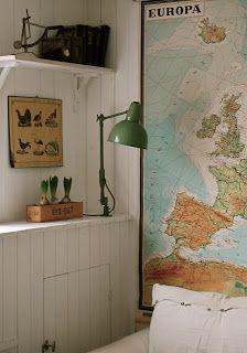 Long thin map (HVÍTUR LAKKRÍS)