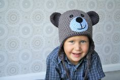 Teddy bear hat is a cute accessory for a little boy or a girl. If made using wollen yarn it`s super warm as well. Pattern fits the head size approximately 48-51 cm. If you wish to make a smaller hat increase 51 stitches instead of 54. Increasing extra 3 stitches (57 in total) gives you …