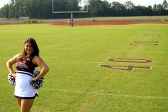 Senior Pictures Cheerleader
