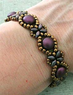 Linda's Crafty Inspirations: Bracelet of the Day: Sunflower Bracelet - Pastel…