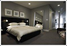 40 Grey Bedroom Ideas Basic Not Boring