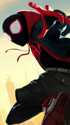 Miles Morales - Ultimate Spider-Man, Into the Spider-Verse - Marvel Comics Marvel Comics, Marvel Heroes, Marvel Avengers, Marvel Characters, Black Spiderman, Spiderman Spider, Amazing Spiderman, Ultimate Spider Man, Nightwing