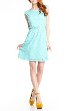{Pippa Dress in Mint} Romeo and Juliet Couture - Mmmm, minty!
