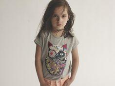 Soft Gallery Lili T-shirt Owl