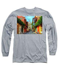 Long Sleeve T-Shirt - Heroic City, Cartagena De Indias Colombia