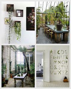 A Bolt of Blue - Botanical decor