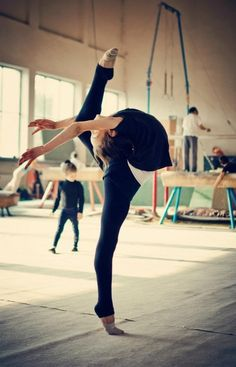 Gimnasia ritmica, best sport ever.