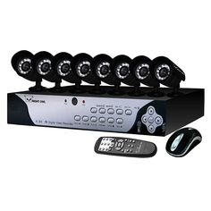 Night Owl FS-8500 8 Channel H.264 Video Security Kit