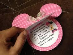 tarjetas de minnie mouse - Buscar con Google