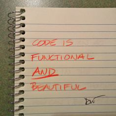Code is functional and beautiful.