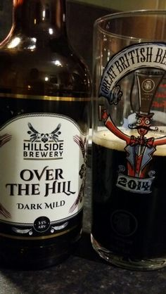 Hillside Brewery Over The Hill Dark Mild http://www.hillsidebrewery.com/our-ales/