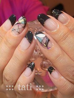Abstract Nail Art ...