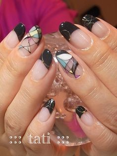 Abstract Nail Art ...