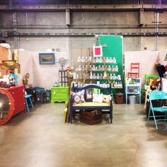 The Old Store's booth at JUNK Hippy OKC! Oct '14