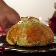 Cranberry baked brie is the perfect appetizer for the holidays.