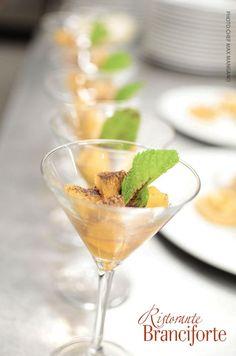 Composta di mela verde caramellata con profumo di zenzero e chiodi di garofano @ Ristorante Branciforte