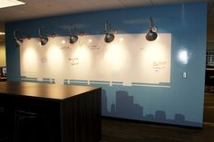 Our OOH wall houses the Haworth Hot List - what's going on the world today? Haworth Marketing + Media - Minneapolis, MN