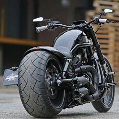 """Thunderbike VRod By: @thunderbikecustoms"""
